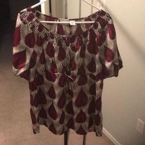 Worthington Babydoll style shirt